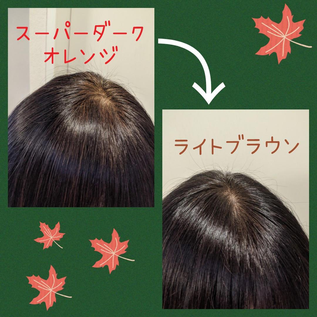 秋冬へ髪色も衣替